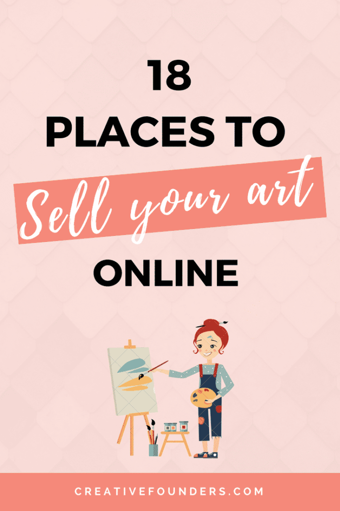 Increase your reach with these marketplaces creative for Places to sell art online