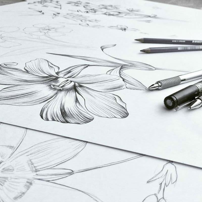 Leanne Claxton Artist Sketches