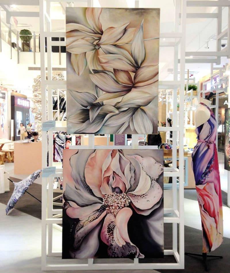 Leanne Claxton Luxury Scarves