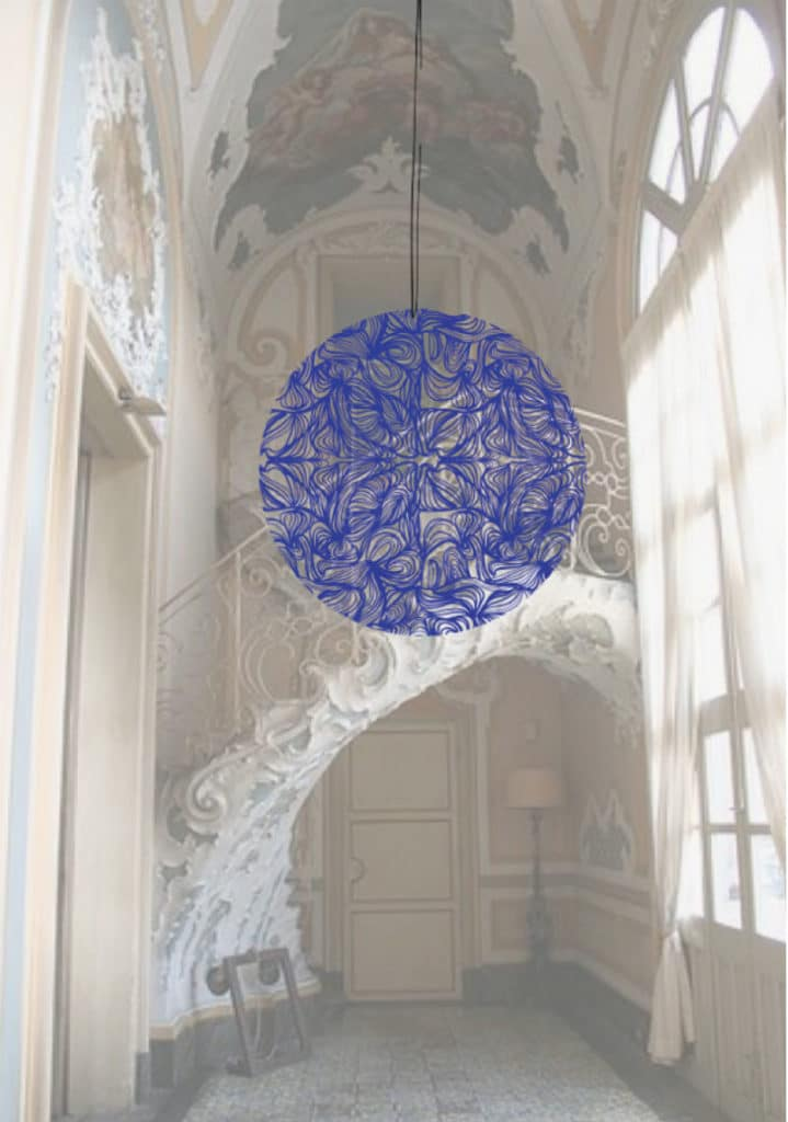 Ophelia Jacarini Art Installation