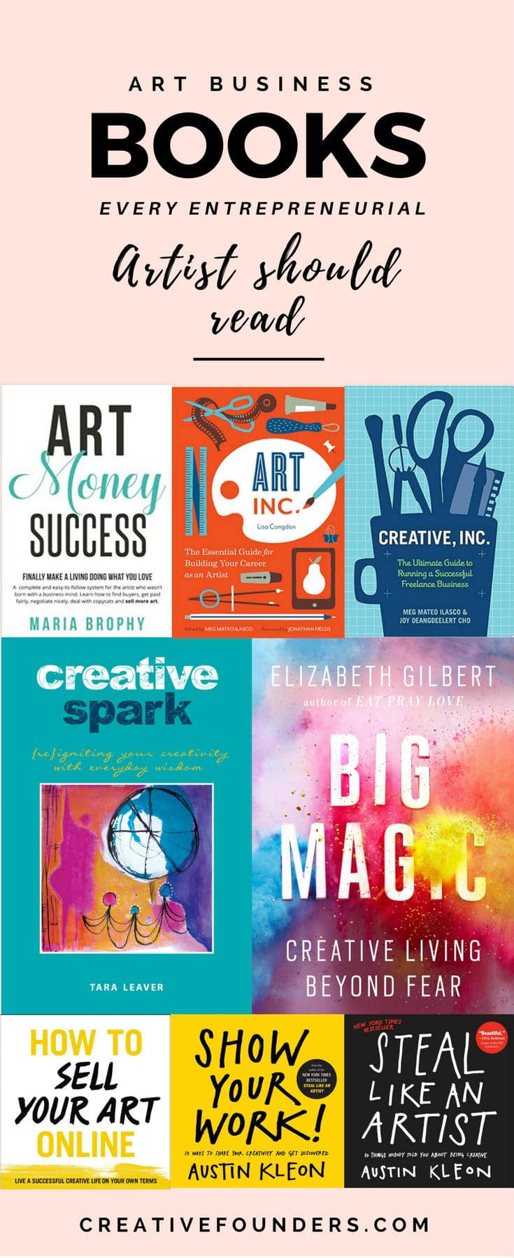 art business books