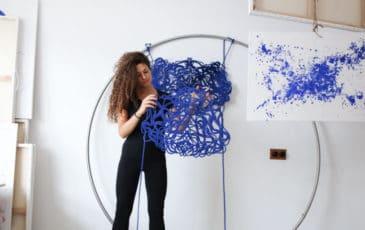 preparing for an overseas art exhibition