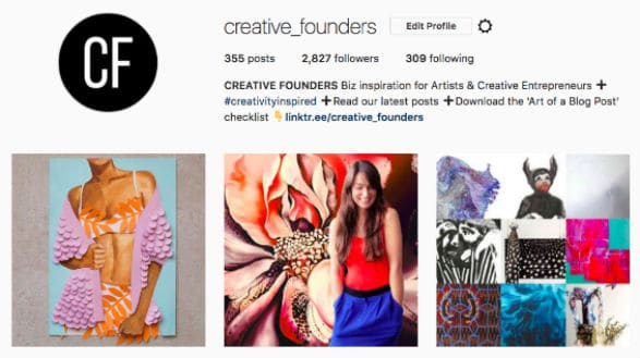 Instagram Art Profile