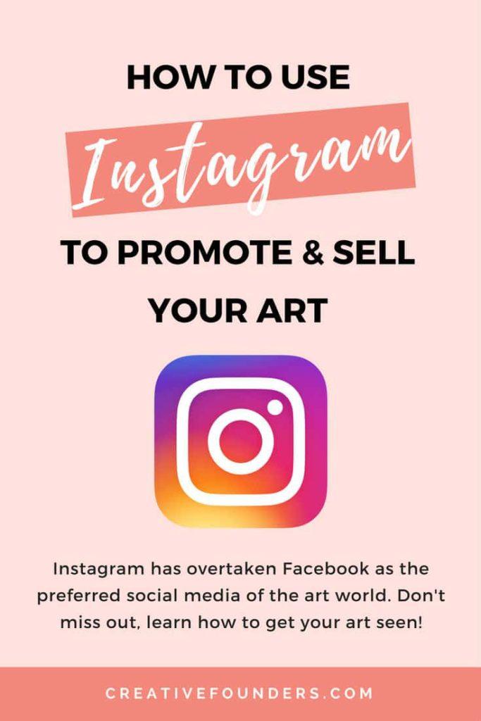 Instagram To Market Your Art