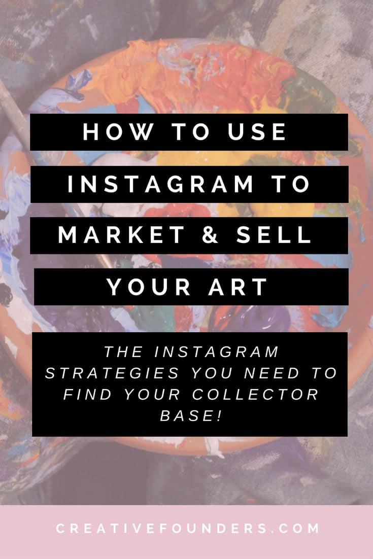 instagram to market art