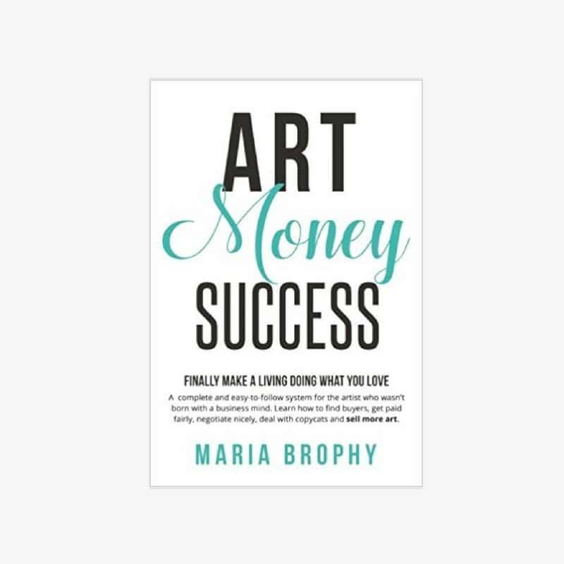 art business Books: art money success by Maria Brophy