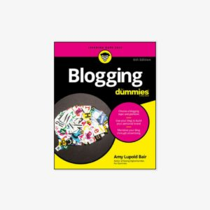 Best Blogging Books Blogging For Dummies